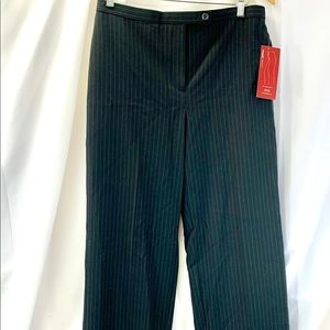 NWT JM Collection 10P Petite Striped Magic Pants